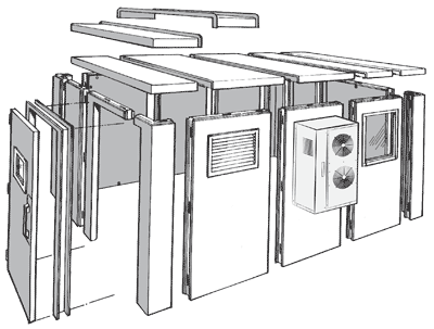 Bally Modular Building: Expanded Diagram